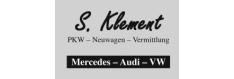 S. Klement PKW - Neuwagen - Vermittlung